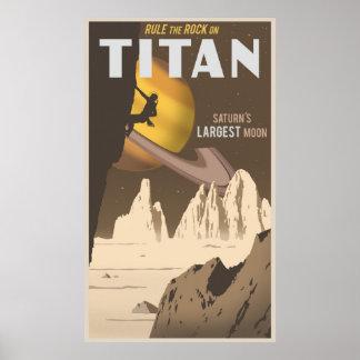 Titán - formato grande póster