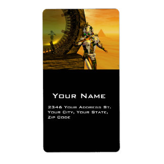 TITAN IN HYPERION CUSTOM SHIPPING LABELS