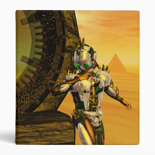TITAN IN THE DESERT OF HYPERION 3 RING BINDER