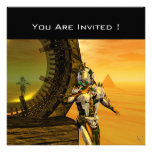 TITAN IN THE DESERT OF HYPERION PERSONALIZED INVITATION