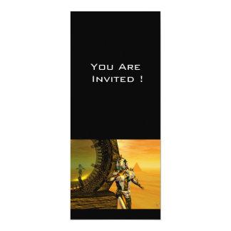 TITAN IN THE DESERT OF HYPERION 4X9.25 PAPER INVITATION CARD