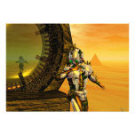 TITAN IN THE DESERT OF HYPERION PERSONALIZED INVITES