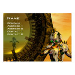 TITAN IN THE DESERT OF HYPERION / Reflections Business Card Template