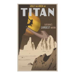 Titan - Large Format Poster at Zazzle