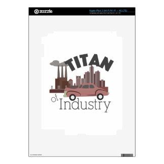 Titan of Industry iPad 3 Decal