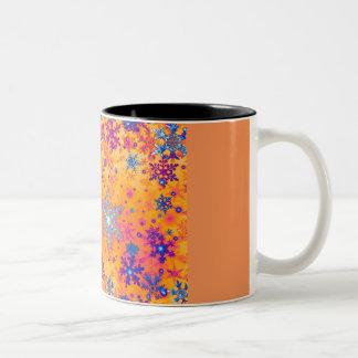 Titan snowflakes mug