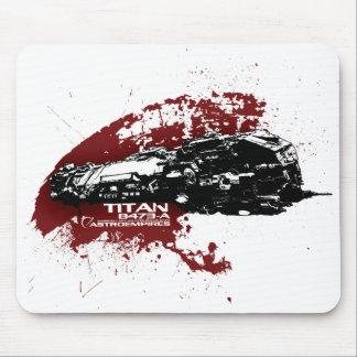 Titan splash mouse pad