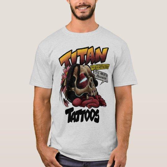 Titan T Shirt White