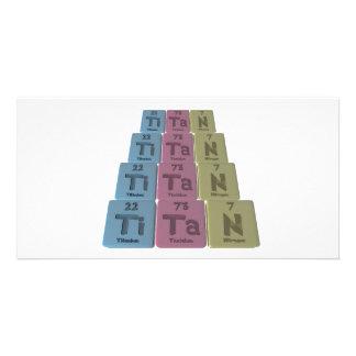 Titan-Ti-Ta-N-Titanium-Tantalum-Nitrogen.png Personalized Photo Card