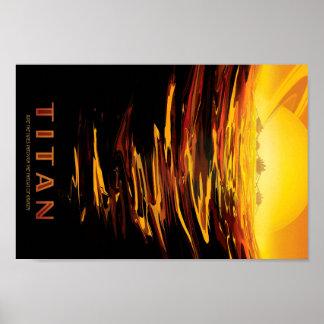 Titan Travel Poster