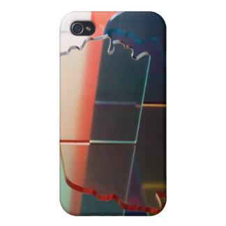 Titanes de Howell del caso del iPhone 4 de la indu iPhone 4 Fundas