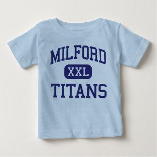 Titanes Milford medio New Hampshire de Milford T Shirt