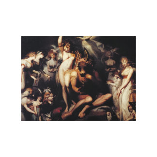 Titania and Bottom Canvas Print