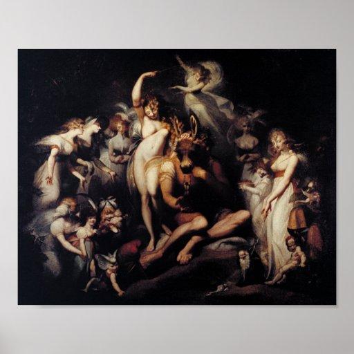 Titania and Bottom Poster