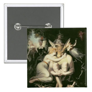 Titania Awakes Surrounded by Attendant Pinback Buttons