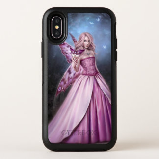 Titania Butterfly Fairy Queen OtterBox Symmetry iPhone X Case