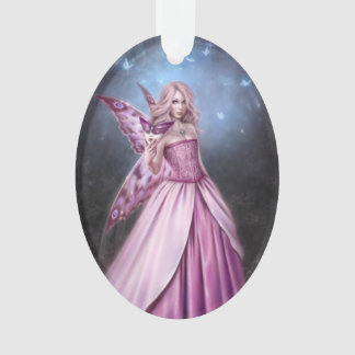 Titania Butterfly Fairy Queen Oval Ornament