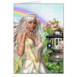 Titania Fairy Greetings Card