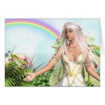 Titania Fairy Note Card