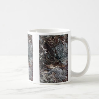 Titania Lying Asleep Coffee Mug