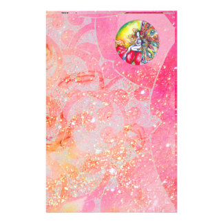 TITANIA ,pink yellow  red Stationery Paper