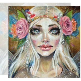 Titania Queen of the Faeries Original Art Card