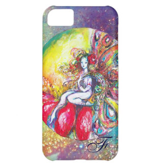 TITANIA SITTING ON A RED FLOWER COVER FOR iPhone 5C