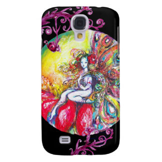 TITANIA SITTING ON A RED FLOWER GALAXY S4 CASE