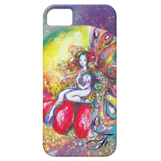 TITANIA SITTING ON A RED FLOWER iPhone SE/5/5s CASE