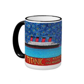 Titanic 2012 ringer mug