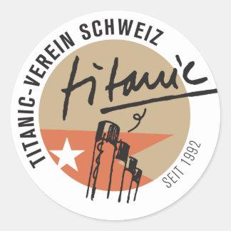 Titanic association Switzerland sticker