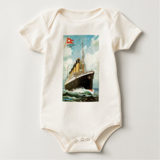 Titanic at Sea Baby Bodysuits
