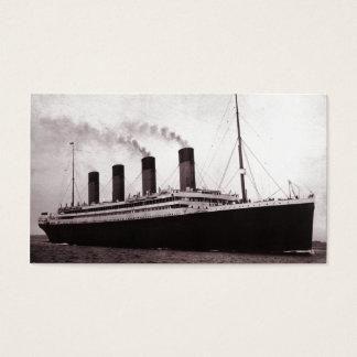 Titanic at Sea Business Card