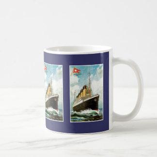 Titanic at Sea Coffee Mug