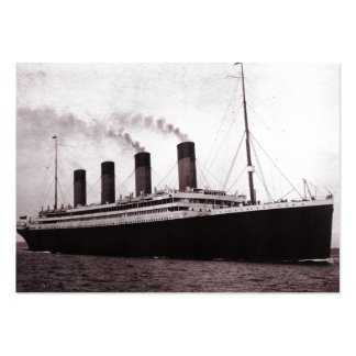 Titanic at Sea Large Business Cards (Pack Of 100)