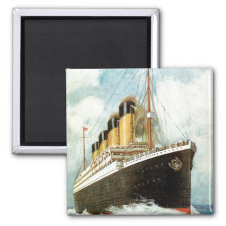 Titanic at Sea Fridge Magnets