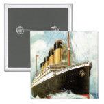 Titanic at Sea Pins