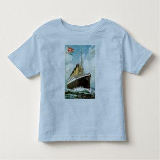 Titanic at Sea Toddler Ringer T Toddler T-shirt