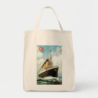 Titanic at Sea Tote Bag
