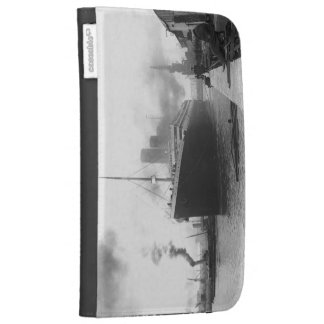 Titanic at the docks of Southampton Kindle 3G Cases