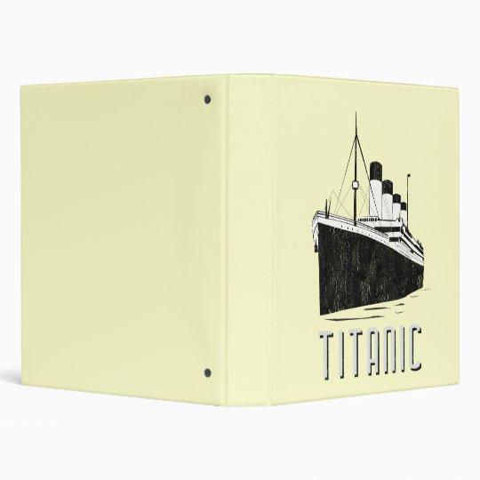 titanic binder