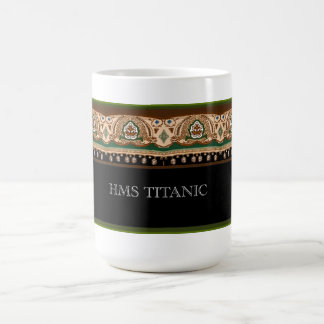 Titanic First Class design Coffee Mug