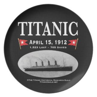 Titanic Ghost Ship (black) Plate