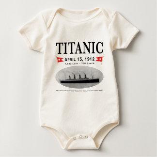 Titanic Ghost Ship Infant Creeper - Organic