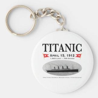 Titanic Ghost Ship Keychain (Round )