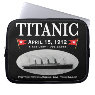 Titanic Ghost Ship Laptop Sleeve 10 inch Neoprene
