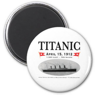 Titanic Ghost Ship Magnets & Fridgies