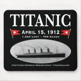 Titanic Ghost Ship Mousepad (black)