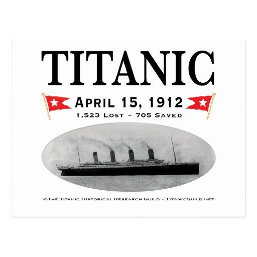 Titanic Ghost Ship Postcard