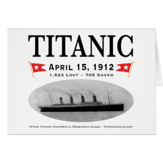 Titanic Ghost Ship: Stationery: Greeting Cards